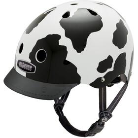 Nutcase Street Pyöräilykypärä , valkoinen/musta